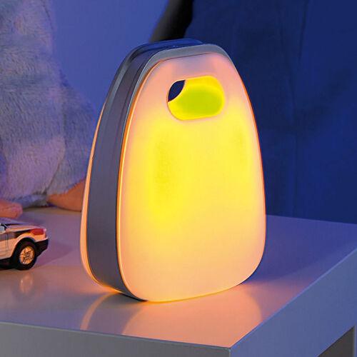 Kabellose Tischlampe Designer-Akku-LED-Deko Akkulampe warmweiß /& Leselicht