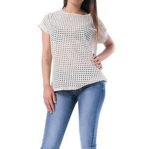 MFORSHOP-maglia-maglietta-donna-filo-traforata-semi-aderente-manica-corta-3339