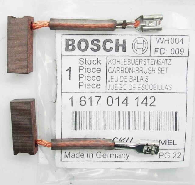 Genuine Bosch Carbon Brushes GBH36V-LI GBH 36VF-LI GBH36 V SDS H36 MA PAIR BS11G