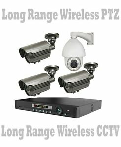 PTZ-LONG-RANGE-WIRELESS-TRANSMIT-UP-TO-2500-FT-Security-Cameras-NightVision-DVR