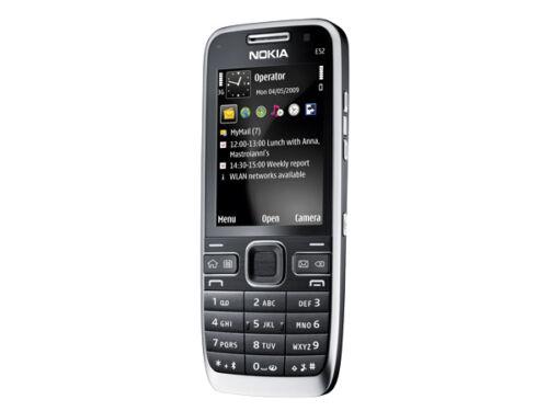 1 of 1 - NOKIA E52 UNLOCKED PHONE - GOOD CONDITION - 3G - BLUETOOTH - WIFI - FM RADIO