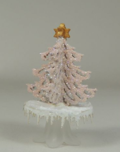 Lacy Tree on Pedestal plate Kit CHM