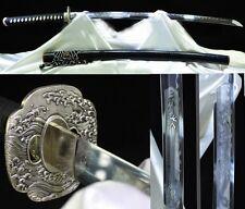 High Quality Japan Samurai Sword Katana Folded Steel Sharp Battle Ready Handmade