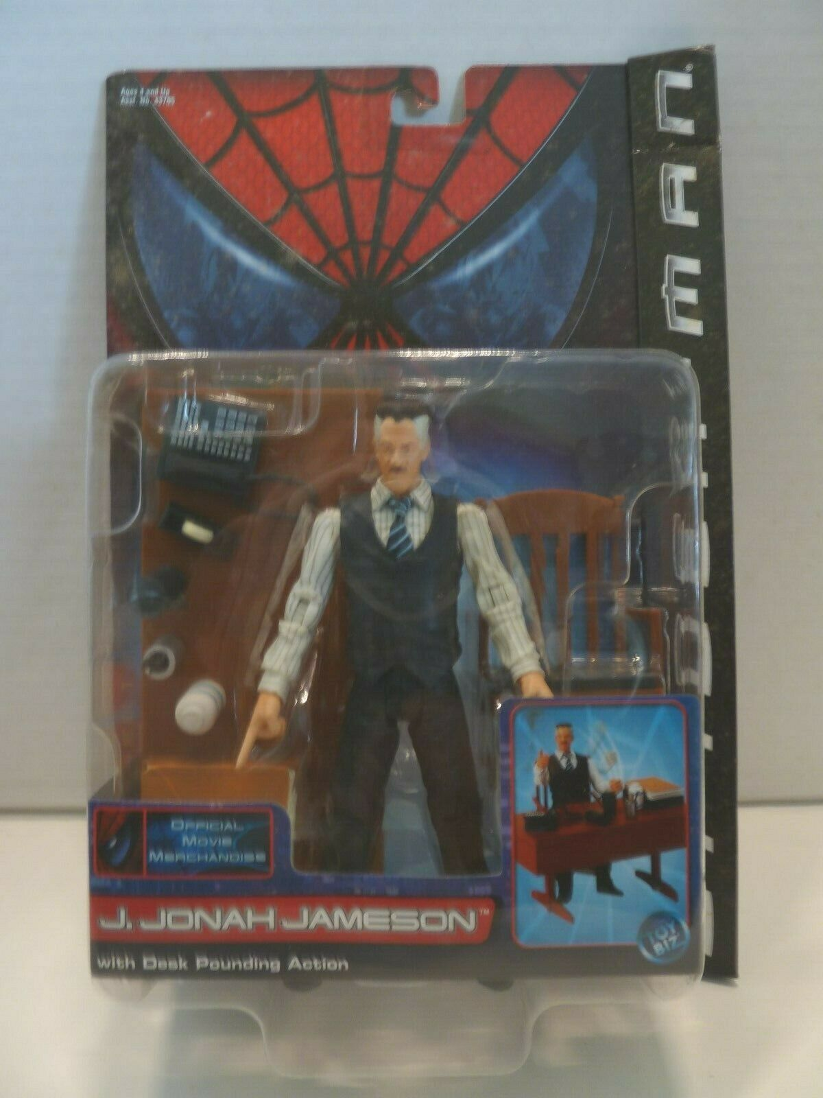Spider-Man Action Figure set Series 1 Toy Biz
