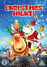 Christmas Night Santa's animated adventure U certificate new sealed DVD region 2