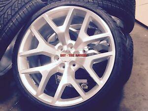 Image Is Loading 26 Gmc Sierra Replica Wheels Silver Rims Denali