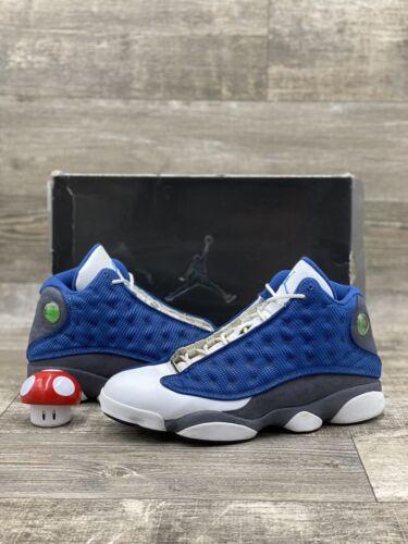 Nike Air Jordan XIII 13 Flint 2010 Size 11.5 Blue