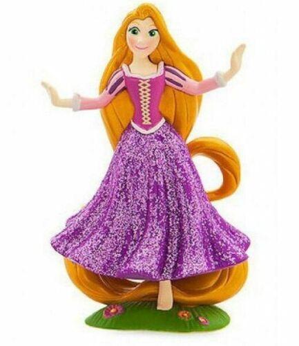 "Disney Store Tangled Princess Rapunzel Figure 3"" PVC LOOSE Figurine Glitter"