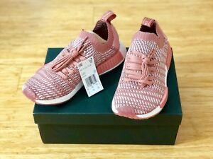 d2800ecfd7427 New Adidas Originals NMD R1 STLT Primeknit Women s Ash Pink Boost US ...