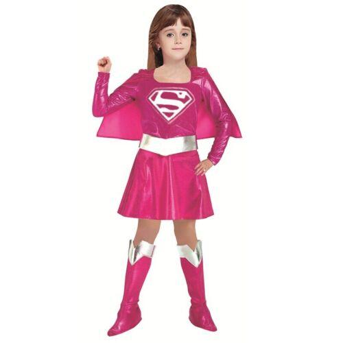 Costume Girl Princess Dress Superman Costume Avengers Supergirl Cosplay Dress