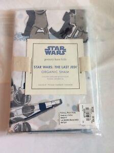 Star Wars Last Jedi Pillow Sham Organic Pottery Barn Kids