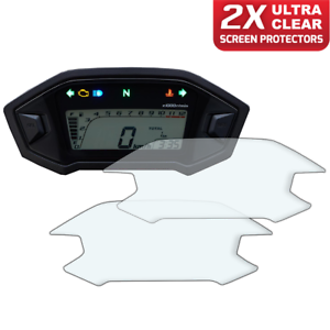 2-x-Honda-CRF250L-CRF250-Rally-2017-Dashboard-Screen-Protector-Ultra-Clear
