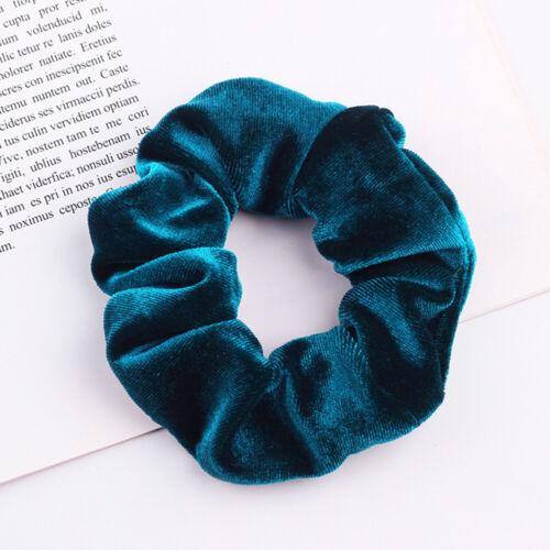 2pcs Elastic Velvet Scrunchies Hair Ties Scrunchy Bobble Bands Hair Accessories