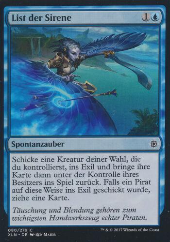 Ixalan List der Sirene Magic the Gathering 80//279