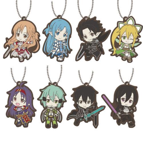 Sword Art Online SAO Asuna Mothers Rosario Capsule Rubber Key Chain Mascot Anime