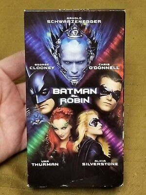 Batman Robin 1997 Vhs 85391650034 Ebay