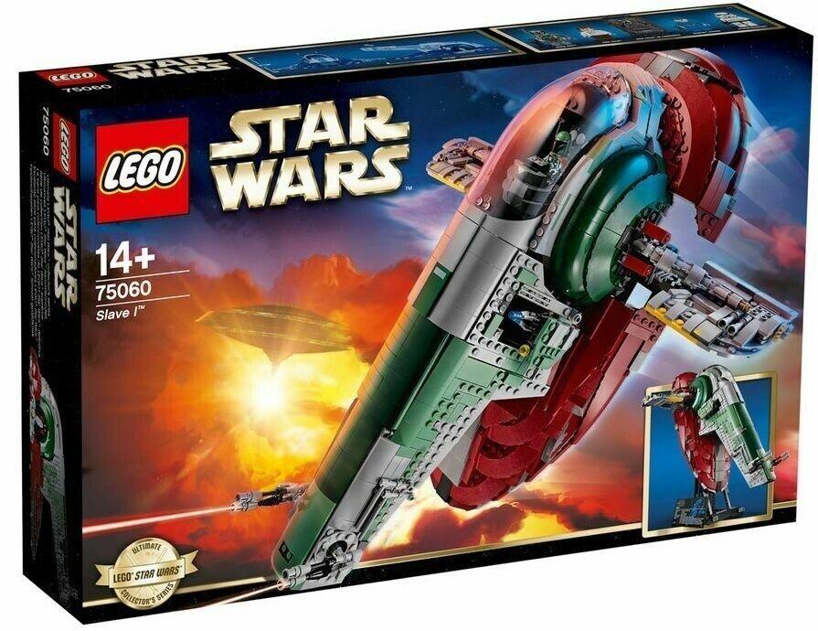 Lego stjärnornas krig, slav I UCS Boba Fett Han Solo Minifigs, BNIB RARE 75060