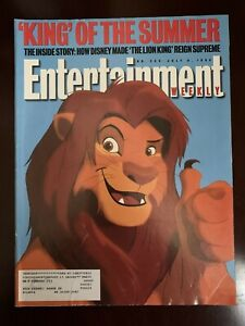Entertainment-Weekly-Magazine-Lion-King-July-8-1994