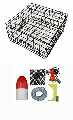 Kufa Recubierto De Vinilo cangrejo trampa y Kit de accesorios  (S60+CAC1K  buscando agente de ventas