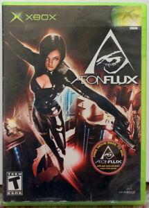 Aeon-Flux-2005-Original-XBox-MTV-Games-Complete-With-Manual