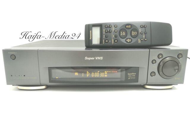 Panasonic NV-HS900 HighEnd S-VHS Recorder / SVHS Videorecorder +FB 1 Jahr Gewähr