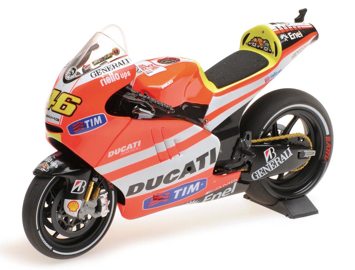 para mayoristas 1:12 1:12 1:12 Minichamps 122111046 Valentino Rossi 2018 Moto Ducati GP11.1 - Nuevo Y En Caja  compra en línea hoy