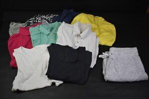 Old-Navy-Women-039-s-Medium-Polos-Shirts-Sweats-Mixed-Clothing-Lot-of-10