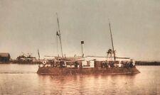 FULGERUL, rumänisches Fluss Kanonenboot. Bauplan Paul Stamm Modellbau Archiv