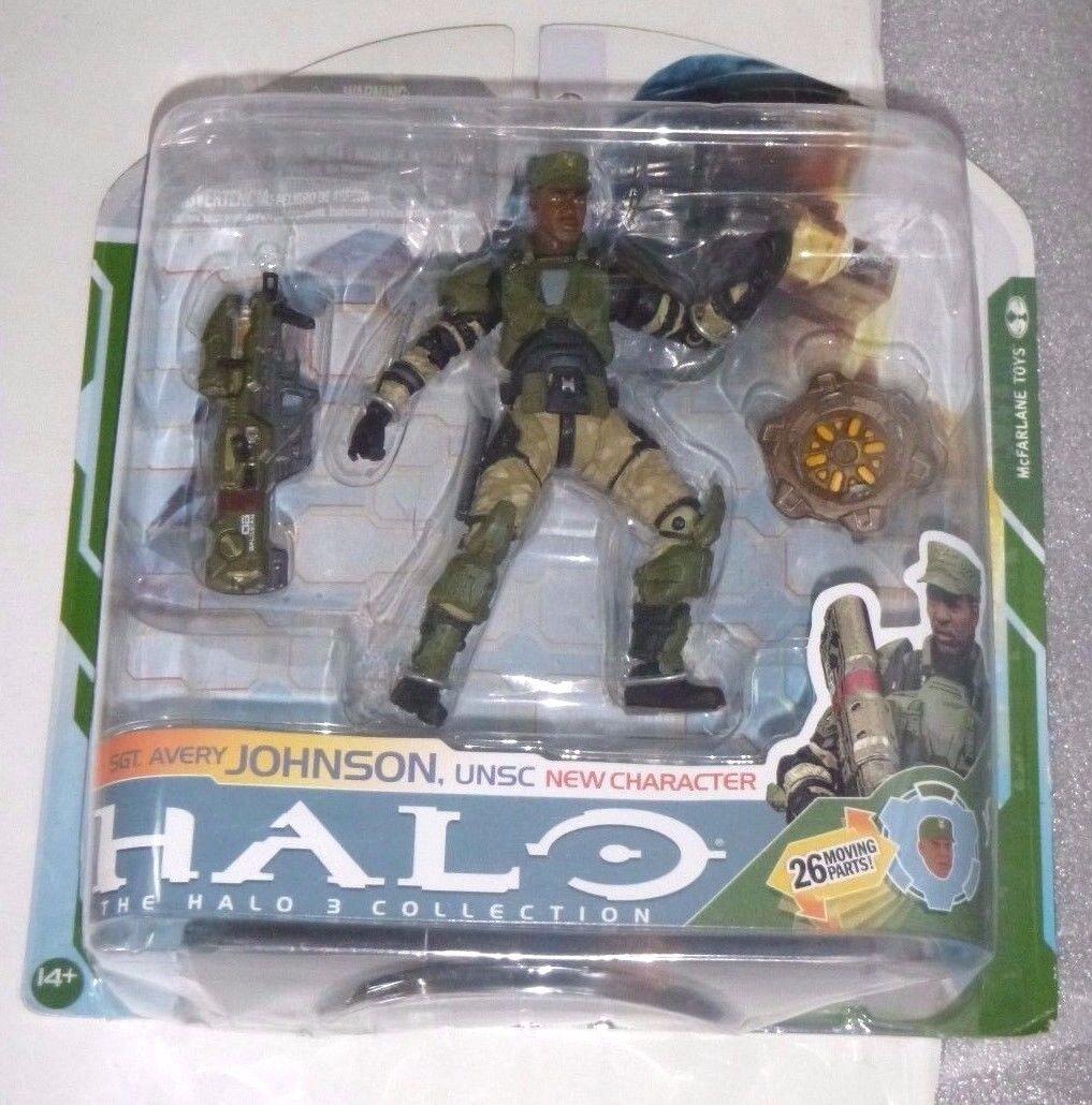Halo 3 reihe 5. avery johnson - halo 3 sergeant avery johnson.halo reach