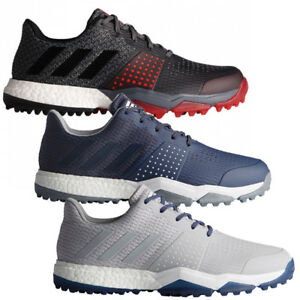 huge discount a11eb 132cd Image is loading ADIDAS-ADIPOWER-SPORT-BOOST-3-WATERPROOF-SPIKELESS-GOLF-