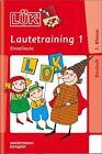 LÜK Lautetraining 1 - Einzellaute von Heiner Müller (2005, Geheftet)