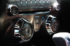 2010-2014 Chevrolet Camaro Billet Radio Knob Covers Polished