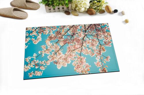 72x72/'/' Beautiful Sakura Tree Flower Bathroom Waterproof Shower Curtain 12 Hook