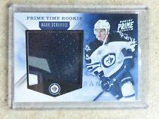 11-12 Panini Time Rookie Prime Jersey Prime #4 MARK SCHEIFELE Patch /10