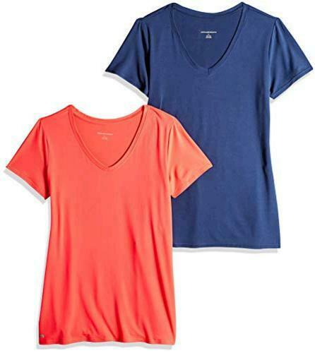 Essentials Women's 2-Pack Tech Stretch, Bright Pink/Navy, Size X-Large