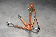 BURSIG Motorcycle Original Center-Lift Stand Paddock Track Garage Orange KTM BMW