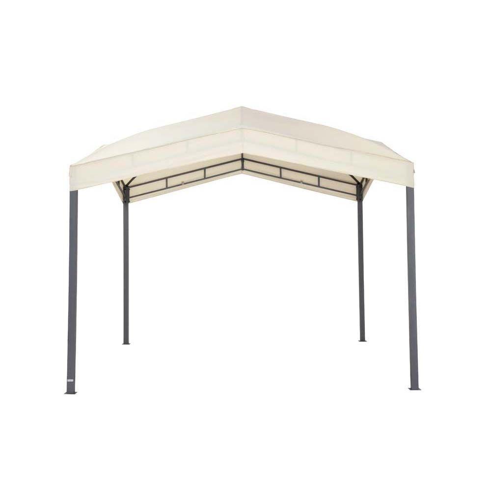 Pavillion beige TEPRO MARABO 305x305x275 cm Garten Camping Terrasse 5533
