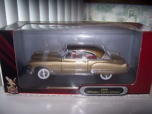 Cadillac Coupe  De  Ville 1949 hardtop  Gold finish new item ,very rare color