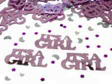 Amscan IT'S A GIRL New Baby Shower Pink Table Confetti 14 Gram Party Sprinkle