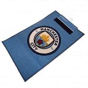 Manchester-City-Fc-Club-Crest-Sol-Tapis-Football-Ventilateur-Chambre