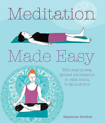 1 of 1 - Meditation Made Easy With Step-by-Step Guided Meditations to Calm Mind Body soul