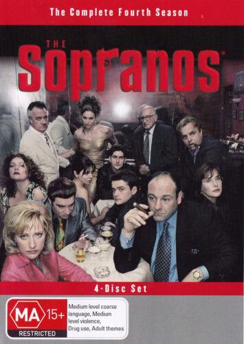1 of 1 - THE SOPRANOS Season 4 DVD R4  PAL - New
