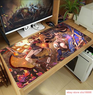 Anime Fate//Grand Order FGO Shuten-douji Cosplay Mouse Pad Large PlayMat Mice Pad