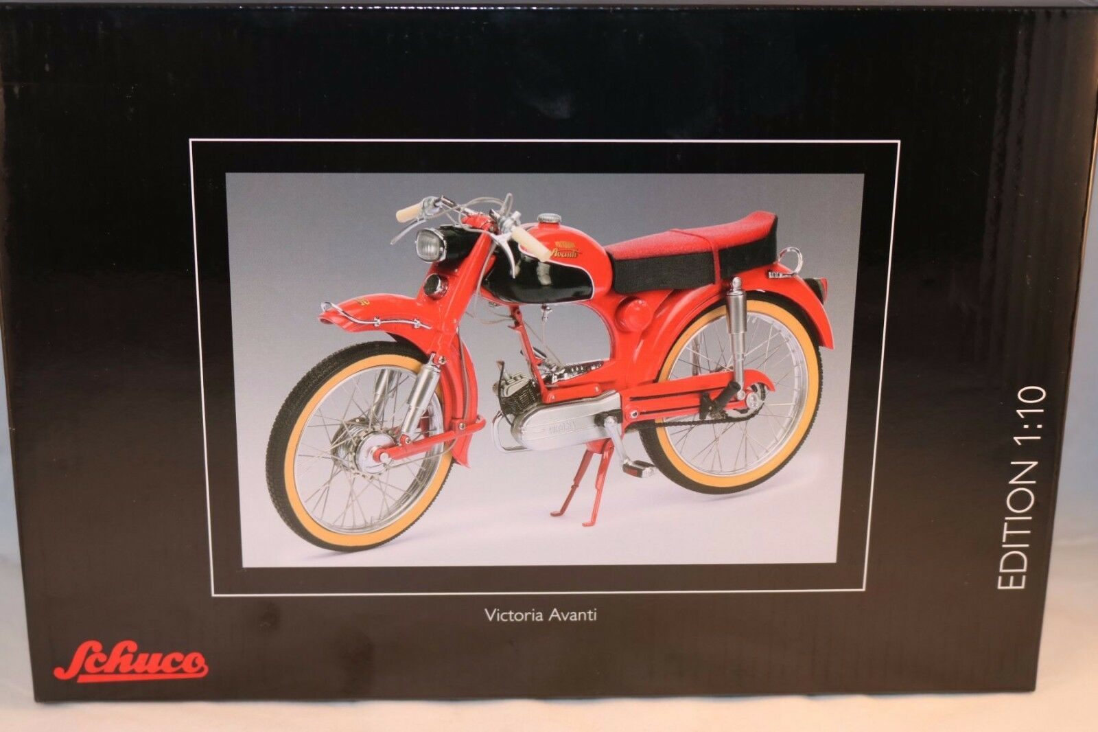 Schuco Victoria Avanti rot motorcycle 1 10 perfect mint in box