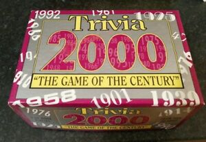 TRIVIA-2000-THE-GAME-OF-THE-CENTURY-COMPLETE-NICE-CONDITION-PAUL-LAMOND-GAMES