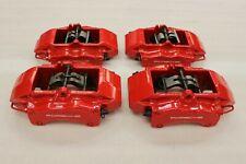 Porsche 997 996 Carrera 911 Turbo C4s S Front Rear Brembo Caliper Brake Red Set Fits Porsche