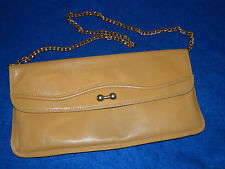 SAC A MAIN sacoche en CUIR LEATHER BAG Ledertasche LEDER handbag SCEPI ITALY