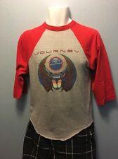Vintage 1981 Journey Escape Tour Men's Medium 3/4 Sleeve T Shirt  No Holes