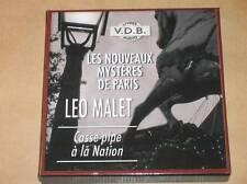 BOX 5 CD AUDIO LIVRE / LEO MALET / CASSE PIPE A LA NATION / TRES BON ETAT