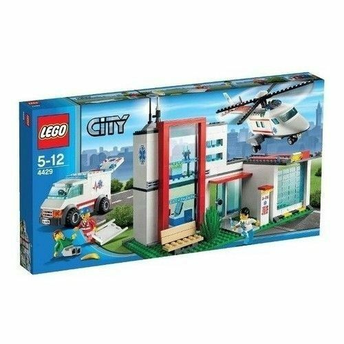 Lego Town Helicopter (4429)  new NIB retiROT donate charity American ROT Cross